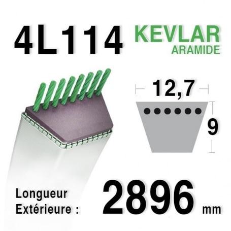 Courroie 4L1140 - 4L114