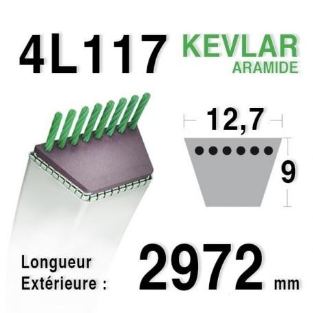 Courroie 4L1170 - 4L117 MTD 7540197 - 754-0197