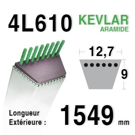 Courroie 4L610 - 4L61 TORO 27199 SNAPPER 2-3710