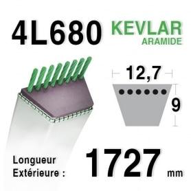 Courroie 4L680 - 4L68 AYP - ROPER 5125r BOLENS 1724035 MTD 7540342 STIGA 1134-9011-01 - 9585-0054-00