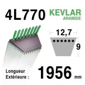 Courroie 4L770 - 4L77 MTD 75404062 HUSQVARNA 532140910 MURRAY 37 x 34