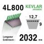 Courroie 4L800 - 4L80 AYP - ROPER 120418 x - 123461 x - 124293 x HUSQVARNA 532123461 - 532120418