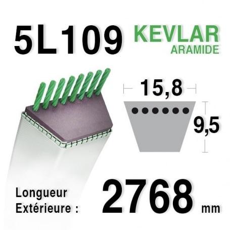 Courroie 5L1090 - 5L109 MURRAY 37x93
