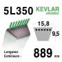 Courroie 5L350 - 5L35 MTD 7540241