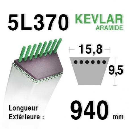 Courroie 5L370 - 5L37 MTD 7540173 - 90-47-659