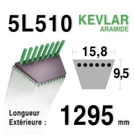 Courroie 5L510 - 5L51 - MTD 7540188 - 754-0188 - 90-65-377