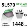 Courroie 5L570 - 5L57 VIKING 22949800