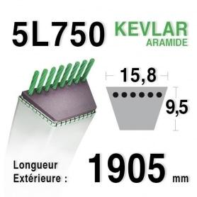 Courroie 5L750 - 5L75 AMF - NOMA 58170