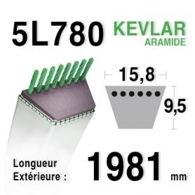 Courroie 5L780 - 5L78 AMF - NOMA 57298 - 141502 - 300680