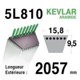 Courroie 5L810 - 5L81 MTD 7540182 AYP - ROPER 6474h AMF - NOMA 319005