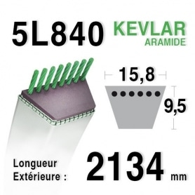 Courroie 5L840 - 5L84 SNAPPER 7-9781