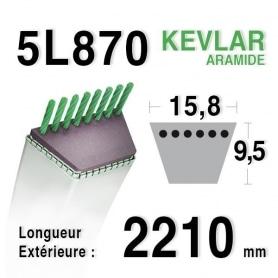 Courroie 5L870 - 5L87 RANSOMES a491014