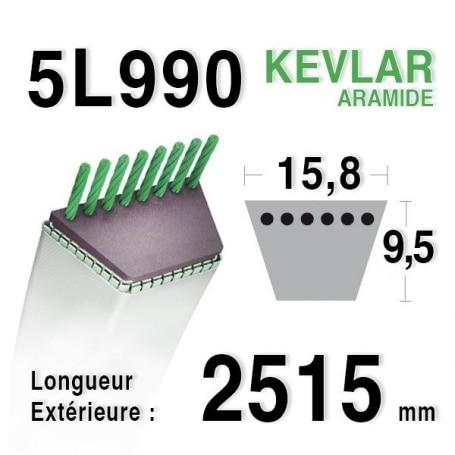 Courroie 5L990 - 5L99
