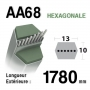 Courroie aa68 SNAPPER 1-0749 - 10749 - 7010749