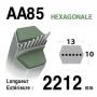 Courroie aa85 HONDA cg35065700h0 CASTELGARDEN 35065700