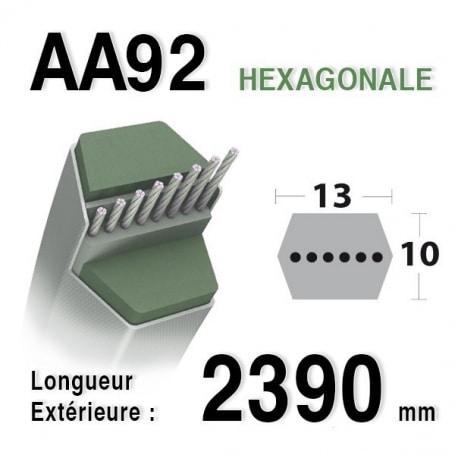 Courroie aa92