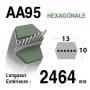 Courroie aa95 - 7540470 -7540527