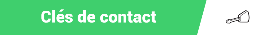 Clés de contact