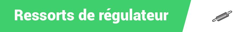 Ressorts de régulateur
