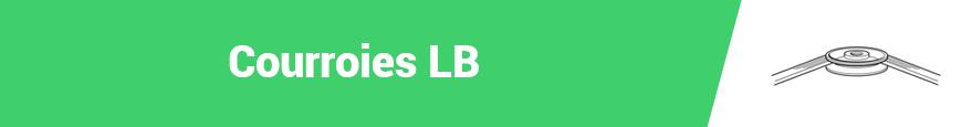 Courroies LB