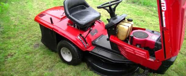 Nettoyage tracteur tondeuse autoportée