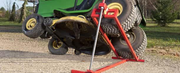 Lève autoportée à vis - Lever votre tracteur tondeuse en toute sécurité